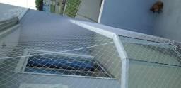 Proteção com Telas de proteção ou Rede de proteção