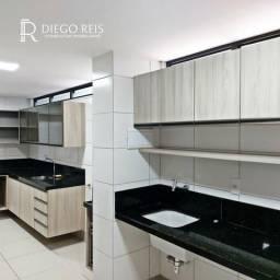 Alugo Apto com 3/4 sendo 3 Suítes + DCE , home office, 140m² - Farol