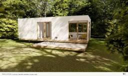 Casa jardim tipo container