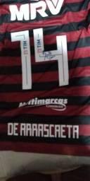 Camisa usada pelo jogador