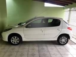 Peugeot 207 Active - branco - 2014