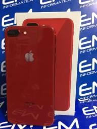 IPhone 8 Plus 64GB Red - Seminovo - Com Garantia - loja Niterói