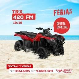 Honda Trx 420FM - Ano: 2019 - 2019