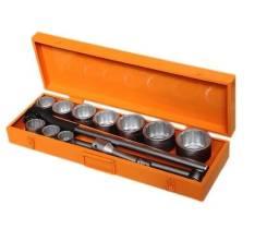 Jogo de soquetes de 1 pol Tramontina Pro 14 pecas