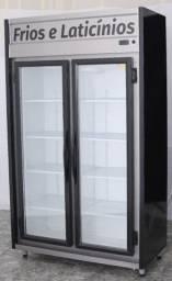 Expositor Auto serviço 2 portas Frios e Laticínios 1,20m Chimafrio