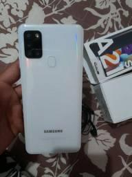 Samsung A21s novo um mês de uso