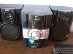 Caixa de som mini system ph400n philco