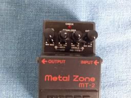 Pedal de Guitarra boss Metal Zone MT-2