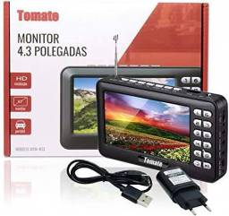 Monitor Resolução Hd 4.3 Polegadas Portátil Tomate Mtm-403