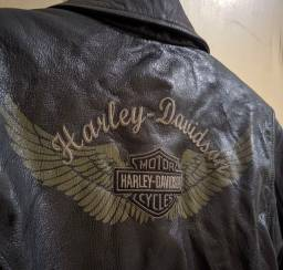 Jaqueta Harley Davidson Feminina Couro Legítimo