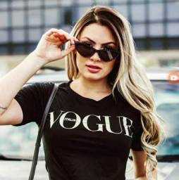 T-shirts moda feminina modelos P M G