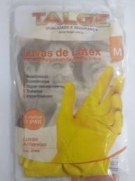 Luva de Látex Talge amarela M ou G (o par )