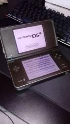 Nintendo 3DS XL usado com 3 jogos, carregador e capa protetora