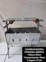 Título do anúncio: CHURRASQUEIRAS DESMONTÁVEIS