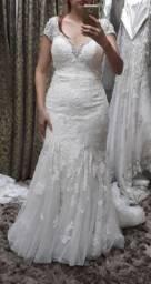 Vestido de noiva cor off
