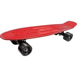 Skate Cruise / Shape Vermelho e Rodas Laranja