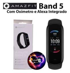 Lançamento.. AMAZFIT Band 5.. oxímetro e Alexa integrada.. NOVO