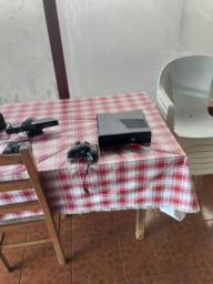 Vendo Xbox 360 Completinho Desbloqueado Com Kinect E Alguns Jogos
