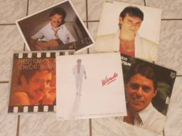 LPs - Toquinho/Wando/Chico/Sater (Liquida: 5 LPs)