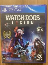Watch Dogs Legion Ps4 Mídia Física Novo Lacrado