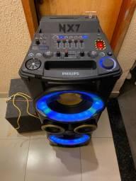 Caixas de som Philips NX7