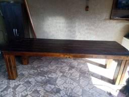 Título do anúncio: Mesa de madeira novíssima!!