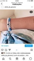 Colares e pulseiras personalizadas