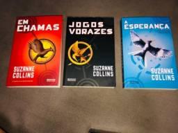 Jogos Vorazes Trilogia- Kit com 3 livros