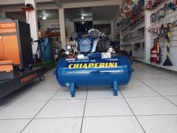 Compressor de ar 10 pés 110 Litros Chiaperini