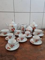 aparelho de chá antigo