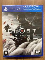 Ghost Of Tsushima Ps4 Mídia Física Pt Br Lacrado