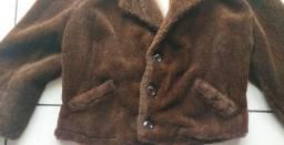 Título do anúncio: Casaco de pele novo