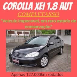 Corolla Xei 1.8 Aut. 2008/ Impecável/ Para exigentes