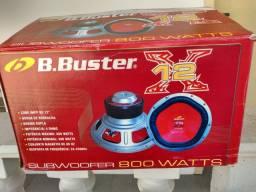 "Subwoofer B Buster 800 watts 12 ""- sem.uso"