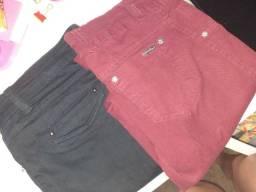 Kit 6 calças coloridas