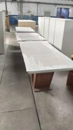 Mesa de Jantar com 6 cadeiras - Vitrine