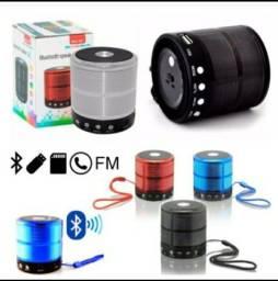 Mini Caixinha Som 887  Bluetooth Portatil Usb Mp3 P2 Sd Radio Fm