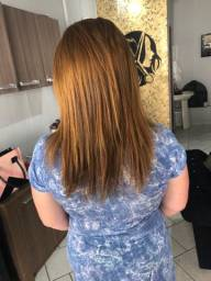 Mega hair Ruivo
