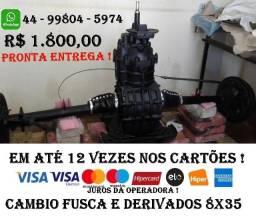Cambio Fusca e derivados Relação 8x35 Pronta Entrega !!!
