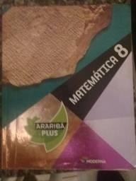 Livros Arariba Plus 8ª (Português, história, matemática, ciências, e geografia)
