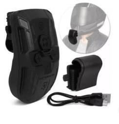 Fone de capacete via Bluetooth