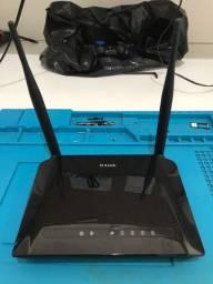 Roteador D-link 2 antenas 300 mbps