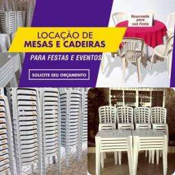 Aluguel mesas e cadeiras
