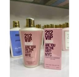 Hidratante + perfume