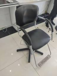 Cadeira de cabeleireiro hidráulica ferrante