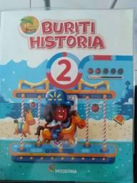 Livro Buriti História 2
