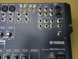 Mesa Som Yamaha - Novo MG166C -