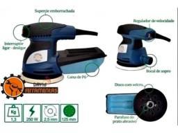 Lixadeira Excêntrica Elétrica 250w 110v Nova