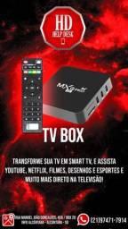 Tv box com 1 mes de lista gratis