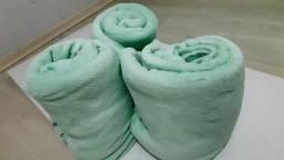 Kit com 8 Mantas  casal soft